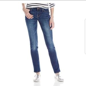 Lucky Brand Brooke Mid-Rise Straight Leg Jeans